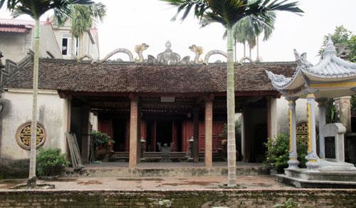 Nhà thờ Tổ họ Ngô Vọng Nguyệt - Di tích LS văn hòa cấp tỉnh