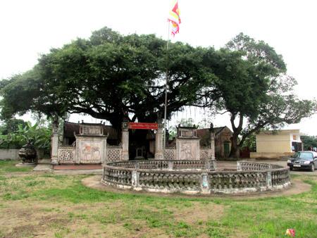 Đền thờ nhị vị Đại Vương: Lưu Khánh Đàm và Lưu Khánh Điều tại làng Lưu Xá, Hưng Hà, Thái Bình. (nguồn: internet)