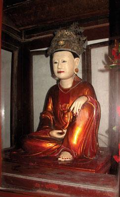 Tượng Tây cung Hoàng phi ở An Cầu, Phủ Cừ, Hưng Yên