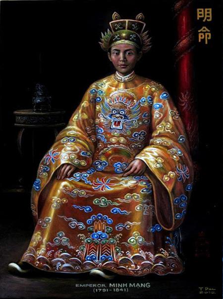 Vua Minh Mạng (Ảnh:internet)