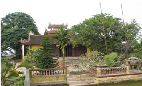 Chùa An Lạc hoa viên tại thôn Tiền, xã Tam Thanh, huyện Vụ Bản, Nam Định