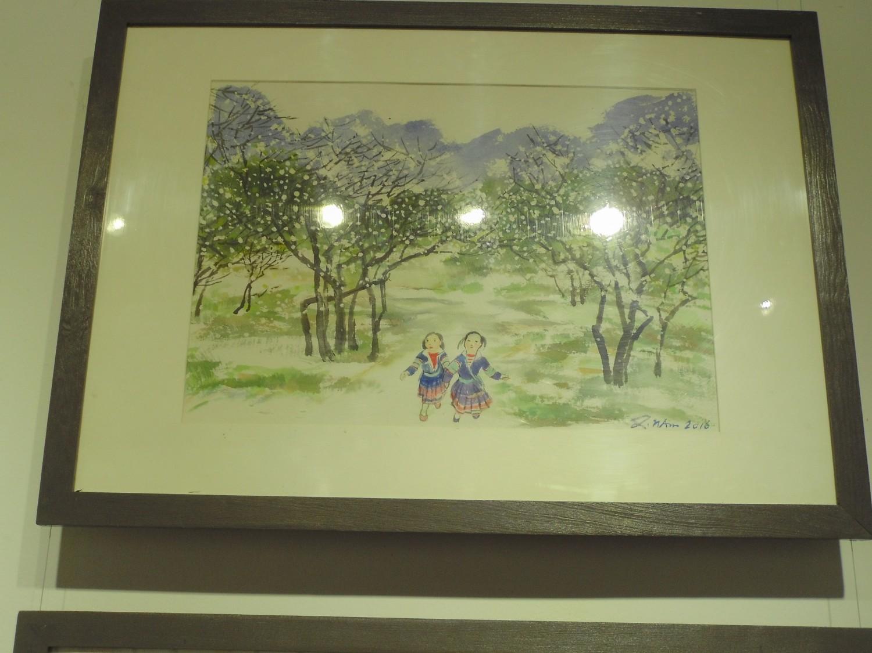 Triển lãm tranh màu nước Ngô Quang Nam