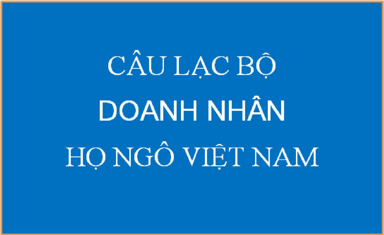 Thư mời dự Hội nghị CLB Doanh nhân Họ Ngô VN lần III