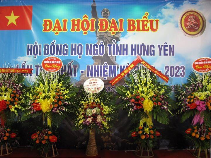 Đại hội họ Ngô tỉnh Hưng Yên lần I thành công tốt đẹp.